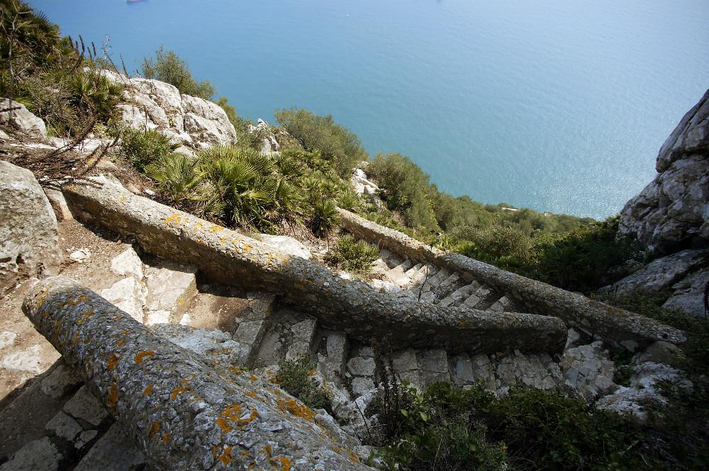 Mediterranean Steps von Gibraltar