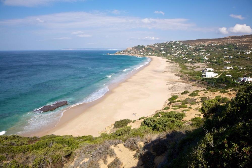 Strand van Los Alemanes in Zahara de los Atunes - besten strande in andalusië