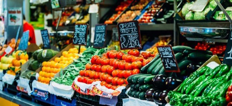 Food Market Granada Spain