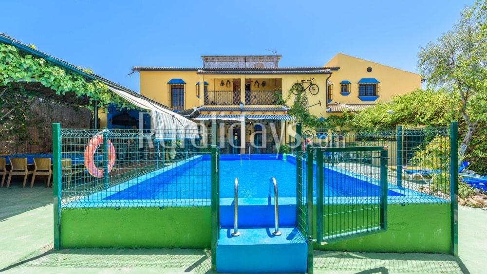 Villa mit einer Ausstattung voller Bequemlichkeiten in Palenciana - COR1209