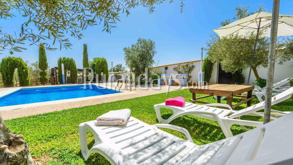 Holiday home 30 km from Antequera in Palenciana (Cordoba)