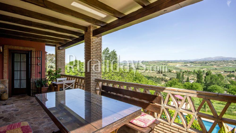 Villa con sobrecogedoras vistas