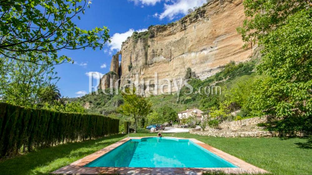 Espectacular villa de vacaciones a los pies del Tajo de Ronda