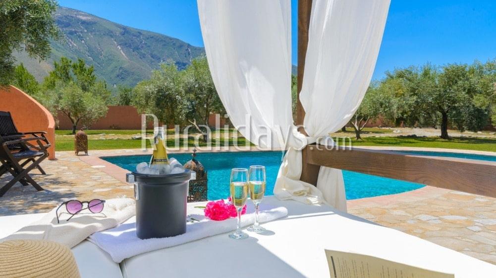 Charmantes Ferienhaus in den Alpujarras in Orgiva - GRA0500