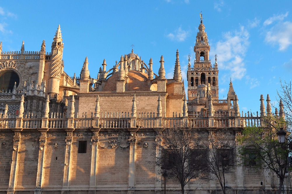 Seville Cathedral from the outside