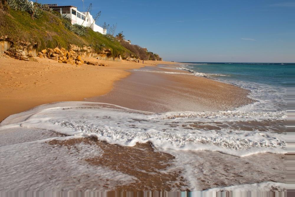 Strand von Caños de Meca - besten Strände in Andalusien