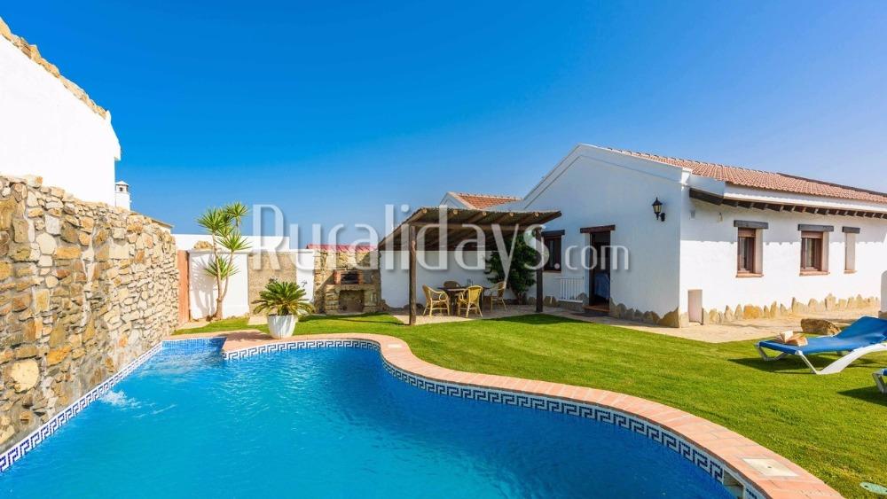 Malerische Villa mit hohen Decken in Vejer de la Frontera (Cadiz)