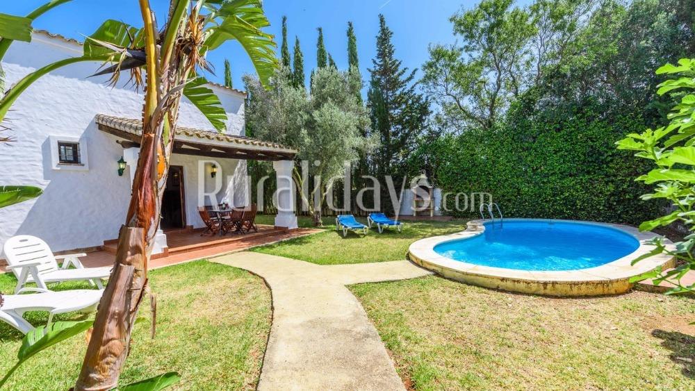 Hübsche Villa für sechs Personen in Conil de la Frontera (Cadiz)