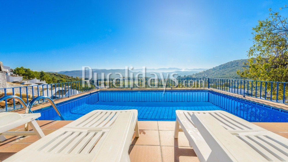Karaktervolle villa met prachtig berguitzicht