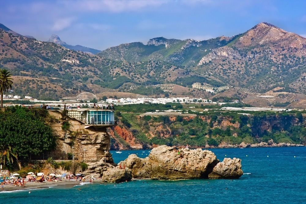 Beach of La Caletilla in Nerja