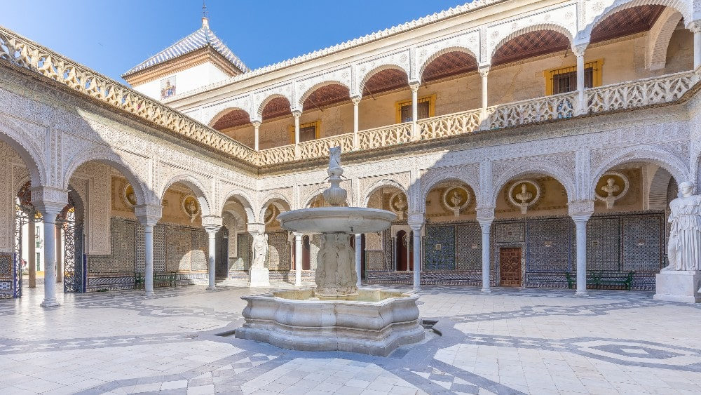 Casa de Pilatos - free things to see in Seville
