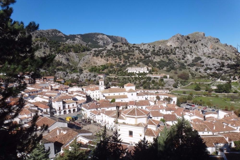 Dorf von Grazalema