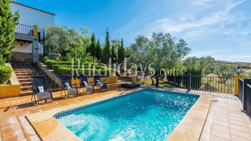 Droomvilla met zwembad en fantastische tuin in Alanís - SEV1334