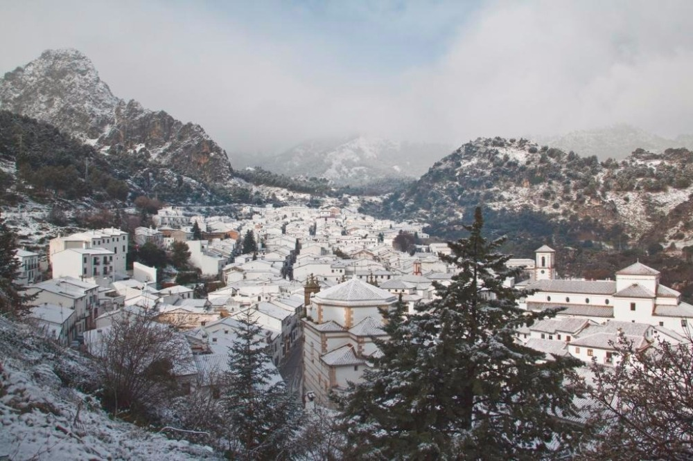 Grazalema in de winter