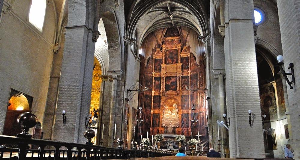 Santa Ana parish church in Sevilla