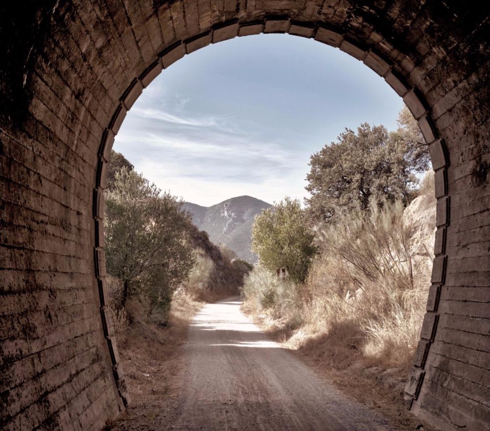 Tunnel de la Via Verde de la Sierra
