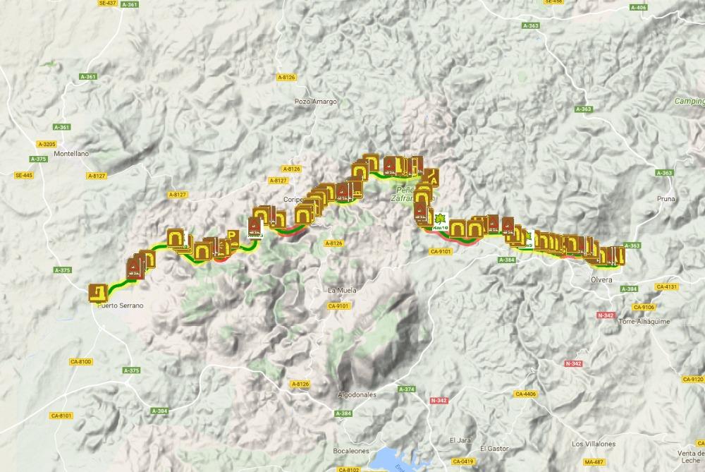 Via Verde de la Sierra à Cadix