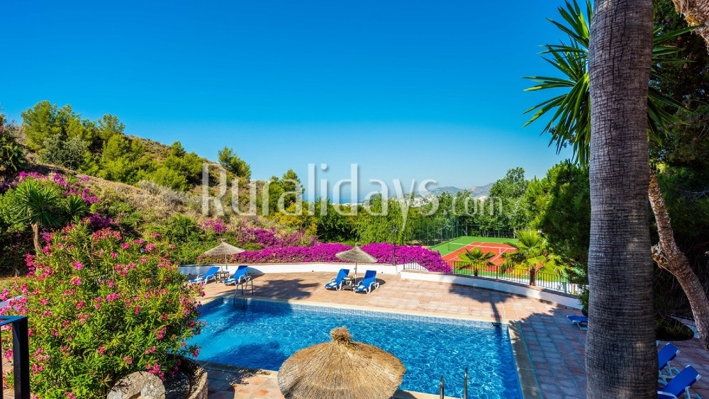 Villa in the mountains close to the beaches of Maro - MAL2667