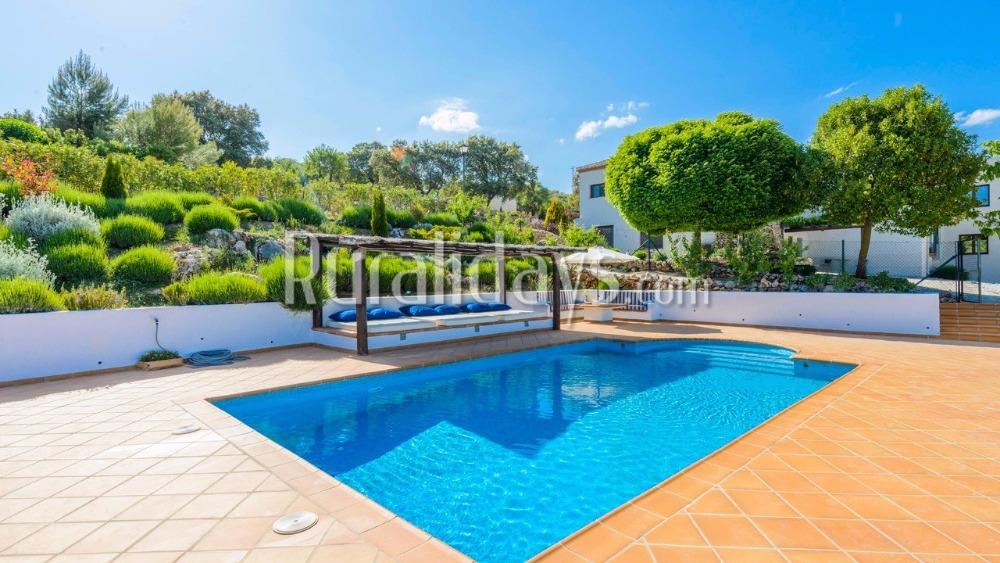 Villa de vacaciones con fantástica zona chill-out en Alhama de Granada