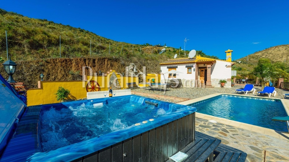 Villa with outdoor leisure area in Nerja