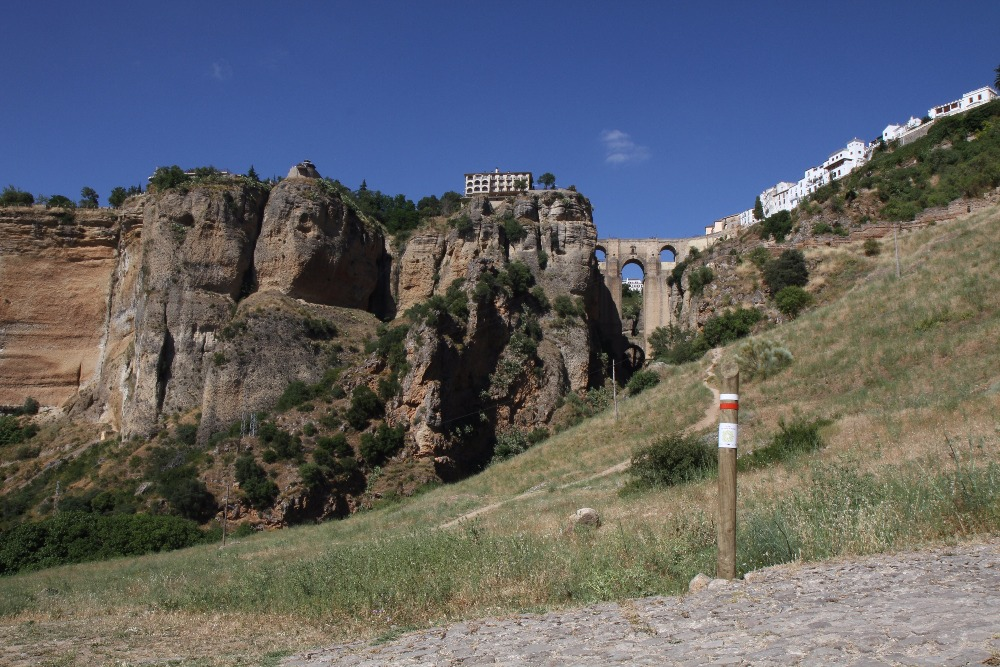 Der Gran Senda von Malaga in Ronda