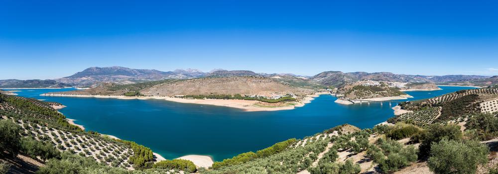 Flusstal Genil und Stausee Iznajar - Vogelbeobachtung