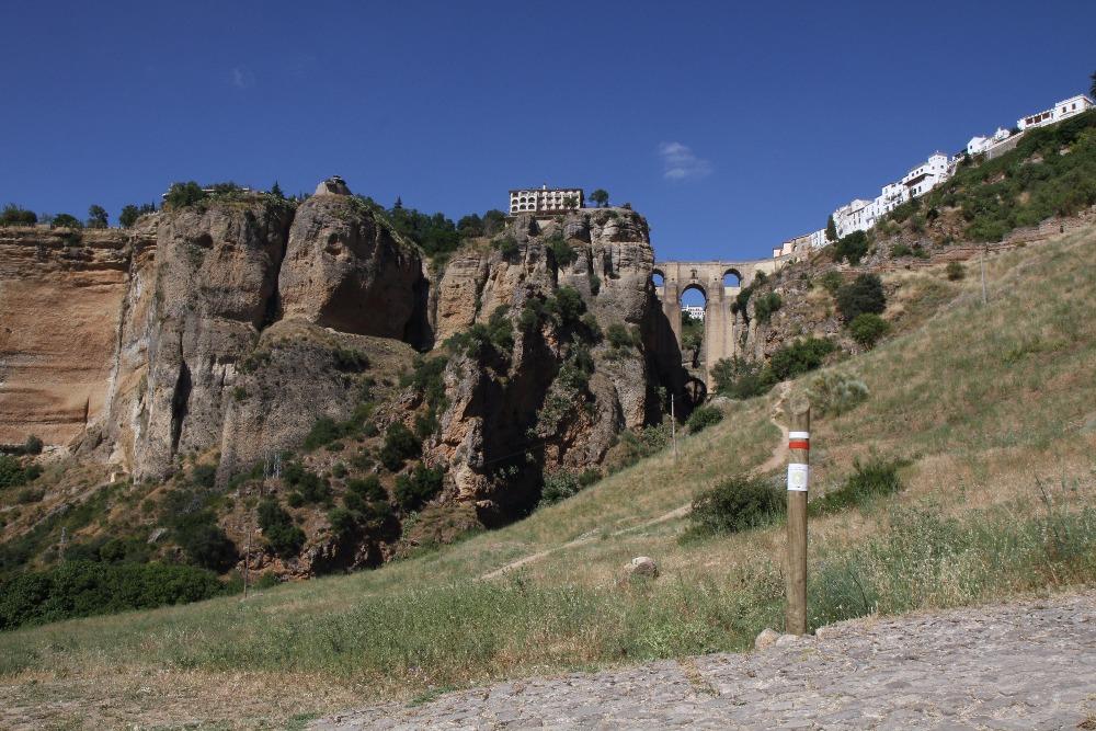 La Gran Senda de Málaga en Ronda