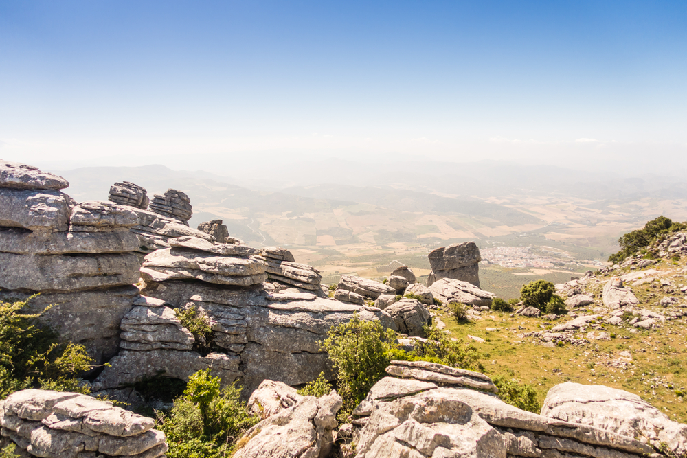 The Torcal in Antequera - birdwatching