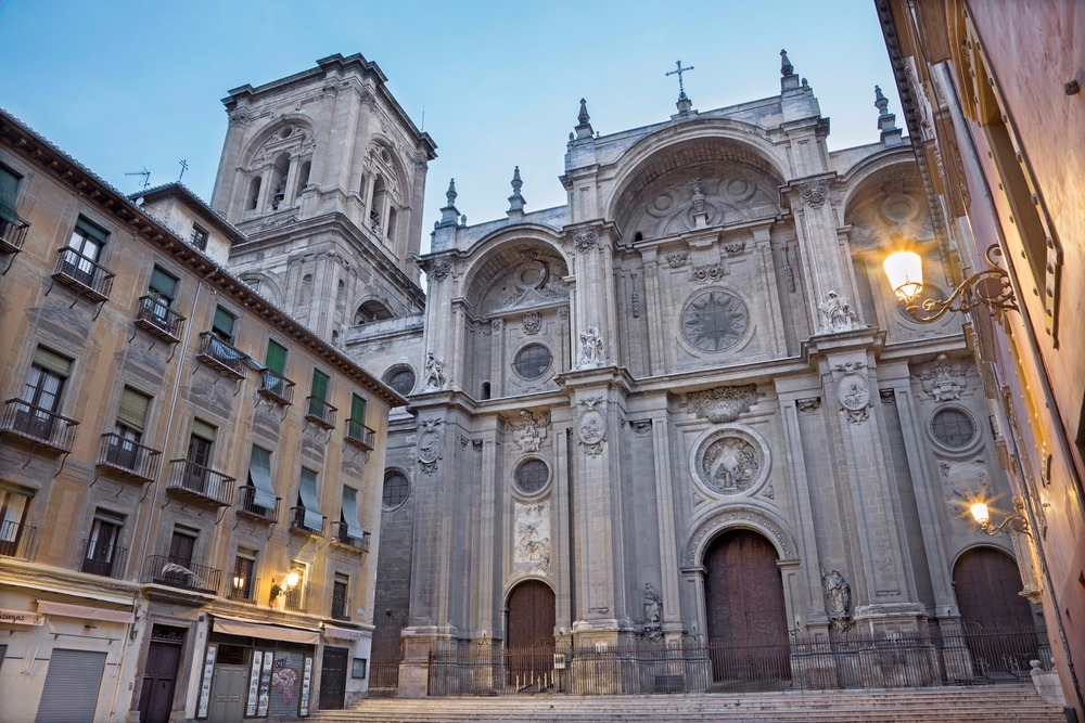 Cathedral of Granada for free