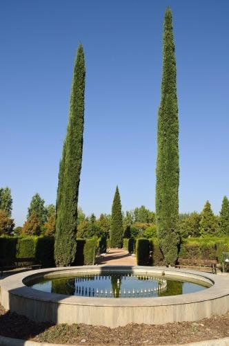 García Lorca park in Granada - free