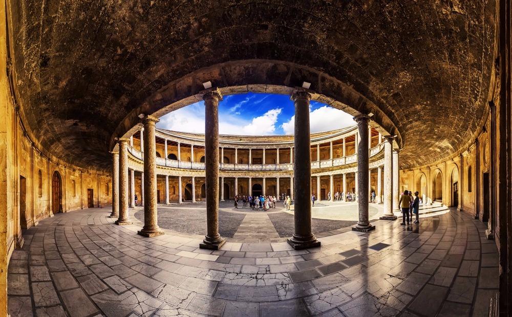 Palace of Carlos V (ground floor) - free