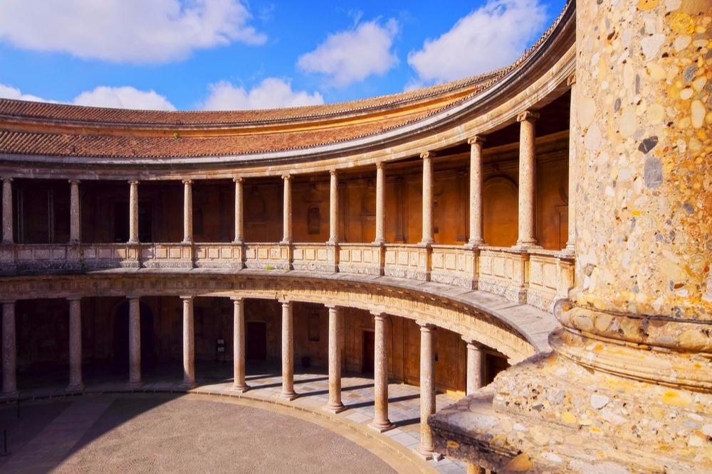 Palace of Carlos V in Granada - free