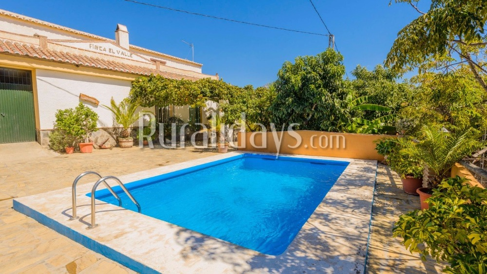 Spacious holiday home in a secluded area in Nerja (Malaga)