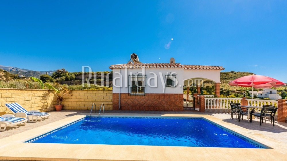 Cosy villa with an enormous porch in Nerja (Malaga)