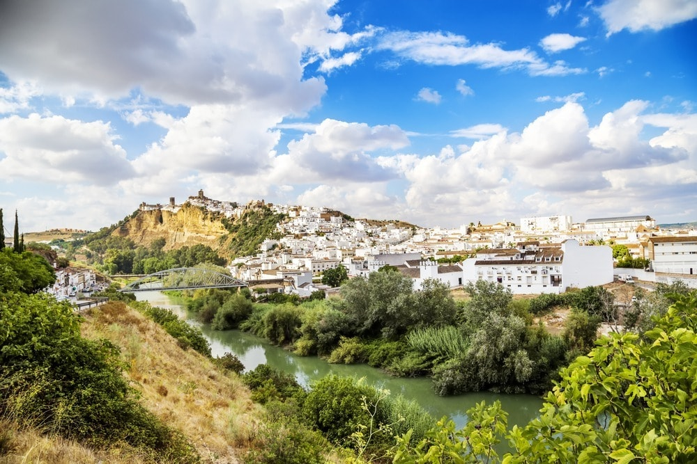 Arcos de la Frontera - Pueblo Blanco en la provincia de Cádiz - Andalucía en 14 días