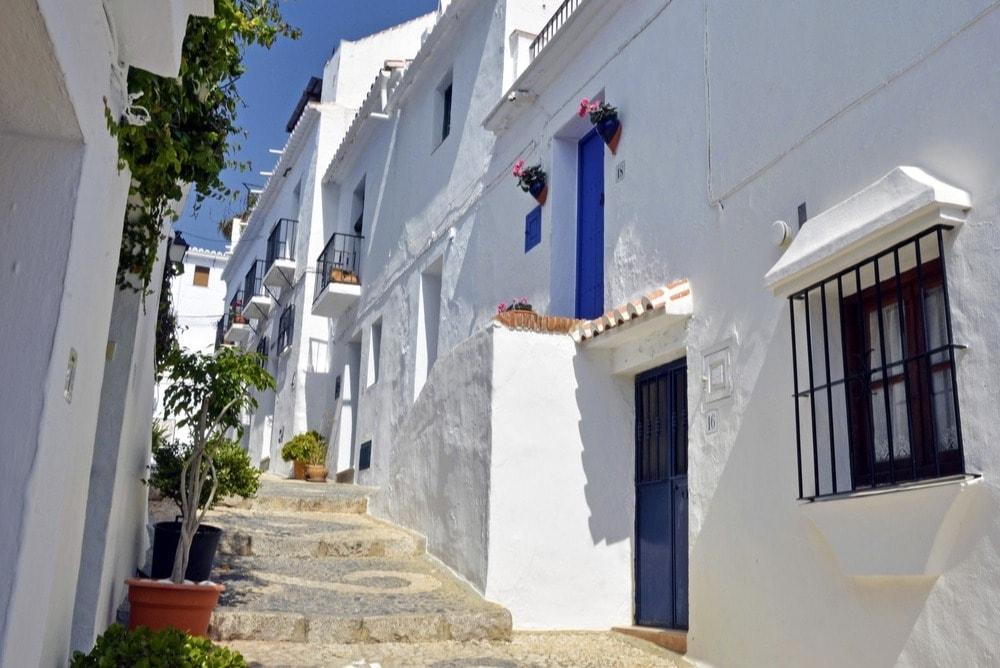 Frigiliana, ein Weiss Dorf in Malaga Provinz - Andalusien in 14 Tagen