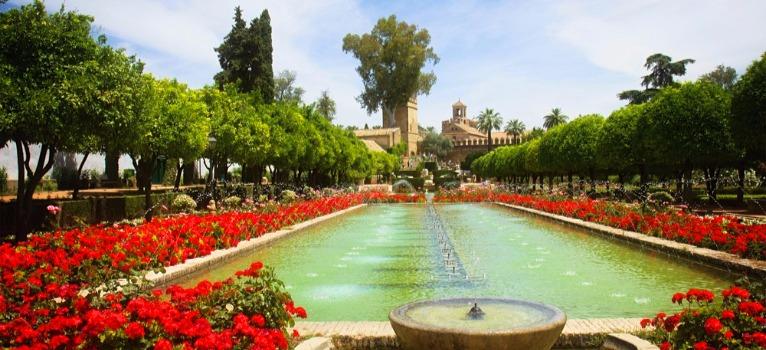 L 39 alcazar de los reyes cristianos cordoue for El jardin de l abadessa