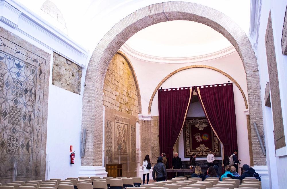 Mosaik-Saal in der Alcazar de los Reyes Cristianos