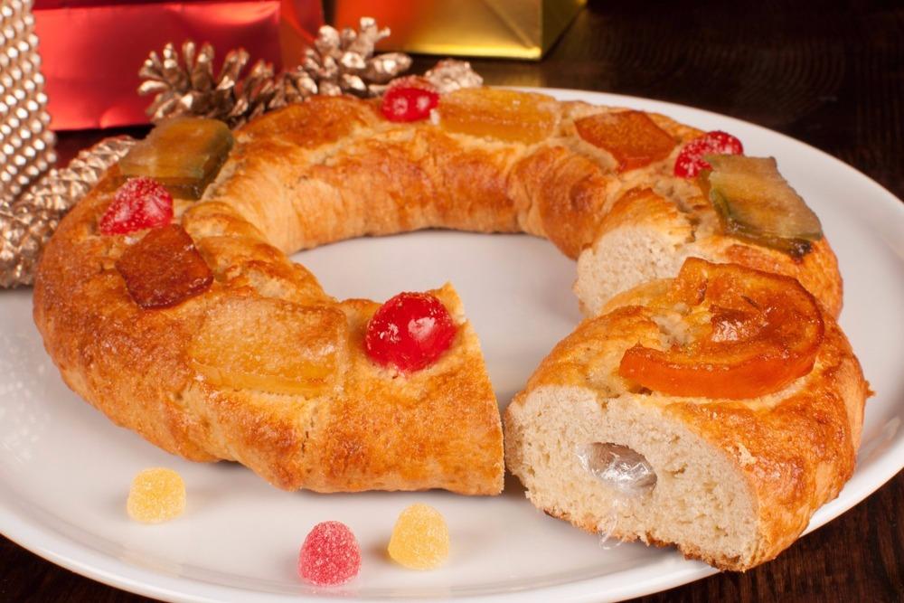 Roscón de reyes - Christmas sweets