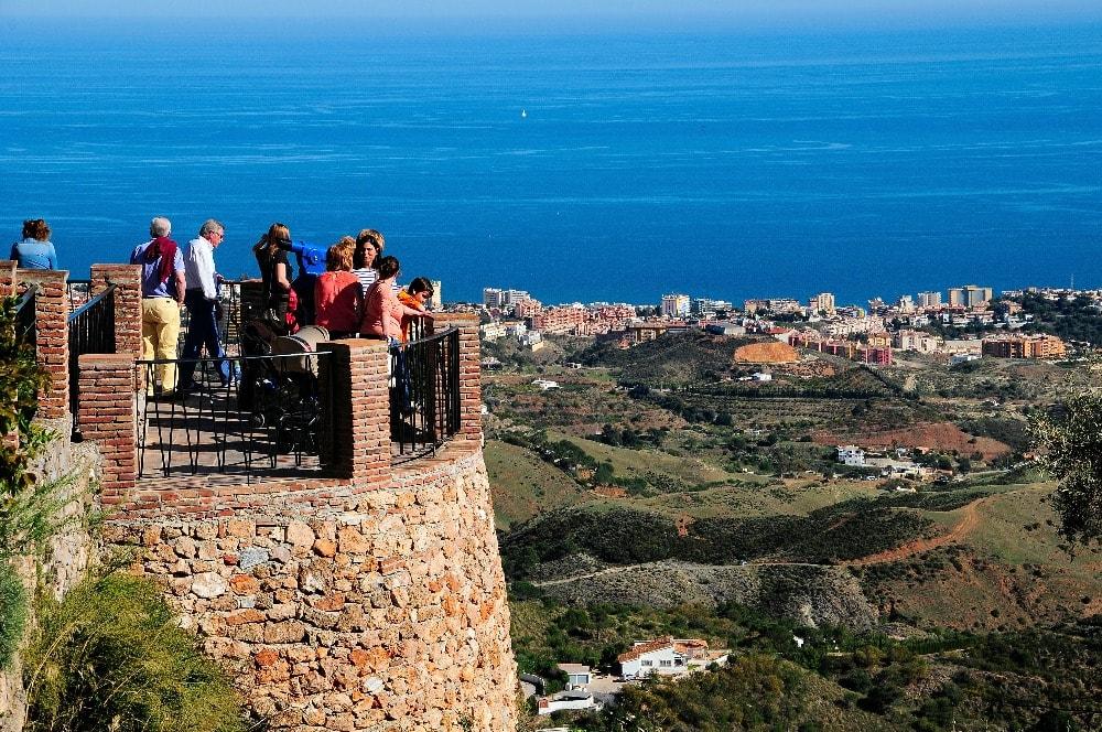 Vistas del mar desde Mijas Pueblo - Andalucía en 14 días