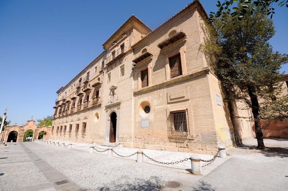 Abdij van Sacromonte in Granada - gratis