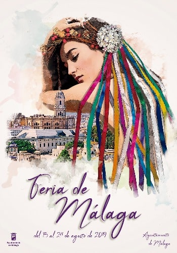 Poster van het Feria de Malaga 2019