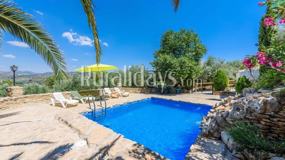 Idyllisch vakantiehuis met prachtige uitzichten in Priego de Córdoba
