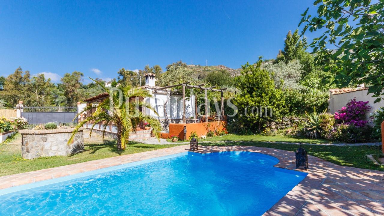Romantisch vakantiehuis in een dromerige setting in Orgiva (Granada)