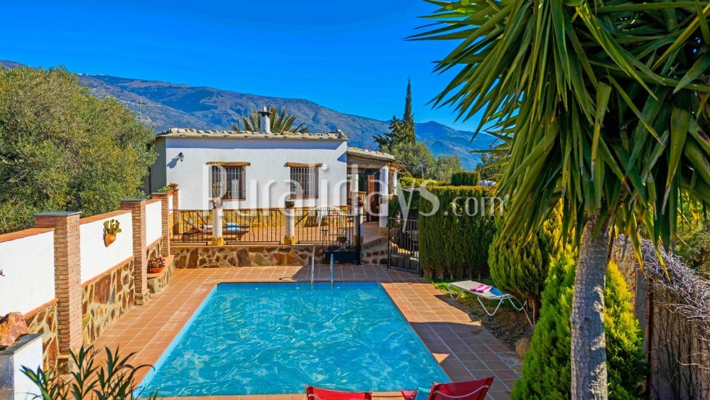 Gezellige vakantievilla in de bergen van de Alpujarras in Orgiva (Granada)