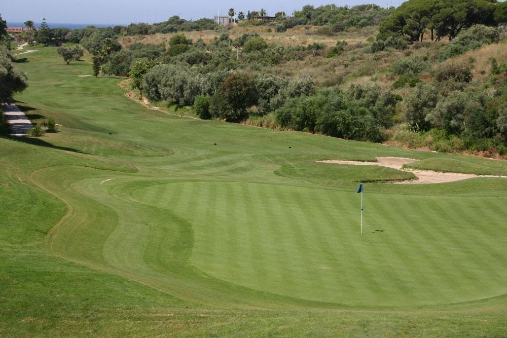 Campo de golf Santa Clara Golf Club en Marbella