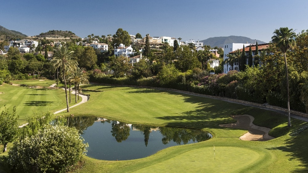 Campo de golf Westin La Quinta en Marbella