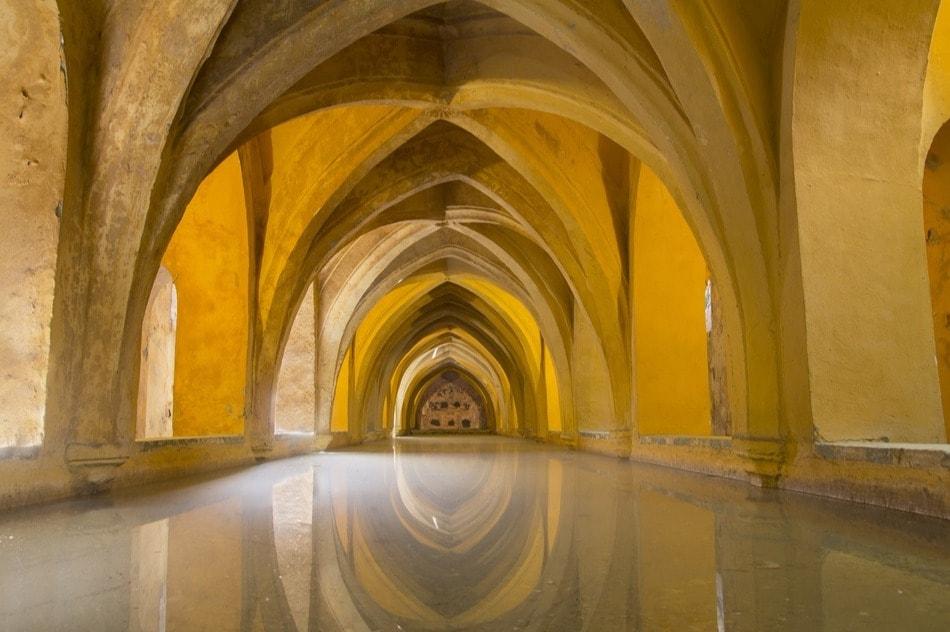 Baños de María Padilla en el Real Alcázar de Sevilla