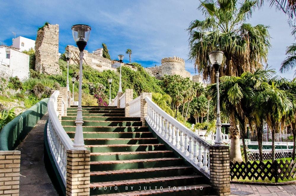 Castle of San Miguel in Almuñécar (Granada)
