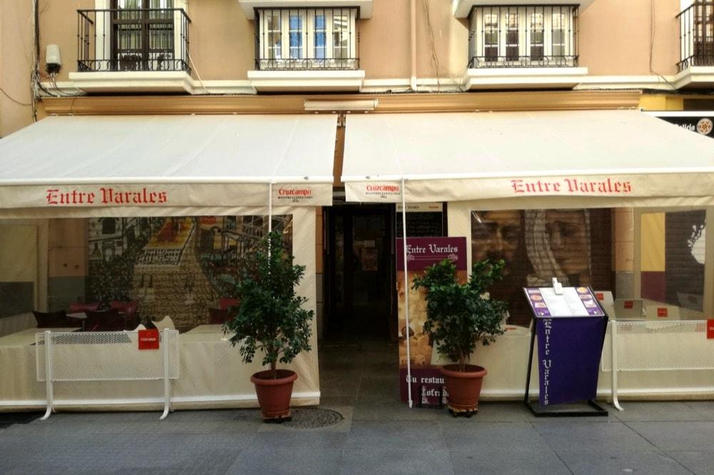 Entre Varales - Essen in Malaga in der Karwoche